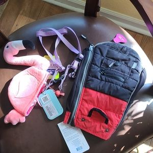 NWT lot of dog items size small